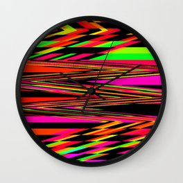V8 Wall Clock