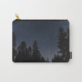 Star Night in the Woods | Nature and Landscape Photography Carry-All Pouch