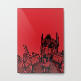 Transformers: Optimus Prime Metal Print