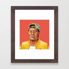 Hipstory -  Mao Zedong Framed Art Print