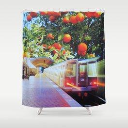 Citrus Express Shower Curtain