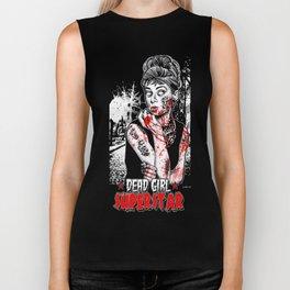 "DEAD GIRL SUPERSTAR ""UNGODLY HEPBURN"" Biker Tank"