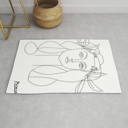 War and Peace by Pablo Picasso Rug