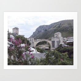 Mostar BiH III Art Print