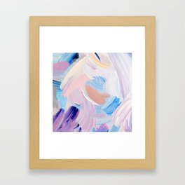 Jess Abstract Painting Framed Art Print