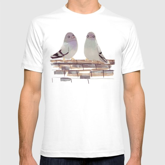Pigeons in love T-shirt