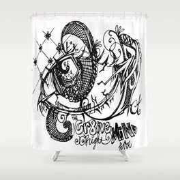 C. R. M. Shower Curtain