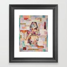 Rainbow Girl Framed Art Print