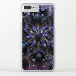 Nature Mandala: September 2 Clear iPhone Case