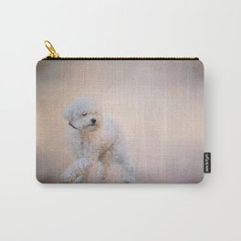 On the Go - Bichon Frise Carry-All Pouch