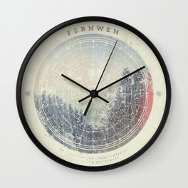 Fernweh Vol 2 Wall Clock