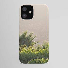 Sunset. Garden in the mountains in Spain iPhone Case