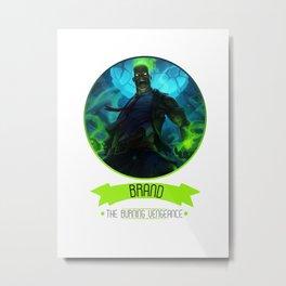 League Of Legends - Brand Metal Print