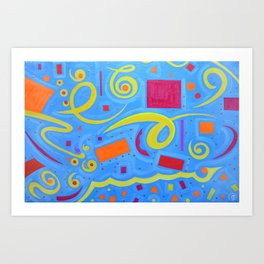 Abstraction1 Art Print