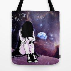 Gone away girl Tote Bag