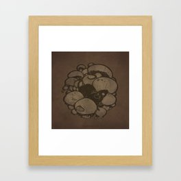 Fungal Fauna - Mouse Framed Art Print