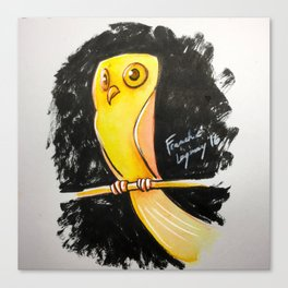 Simple Owl Canvas Print