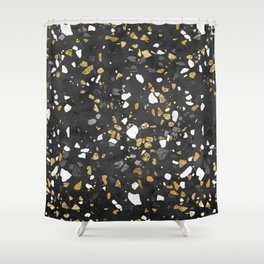 Glitter and Grit 2 Shower Curtain