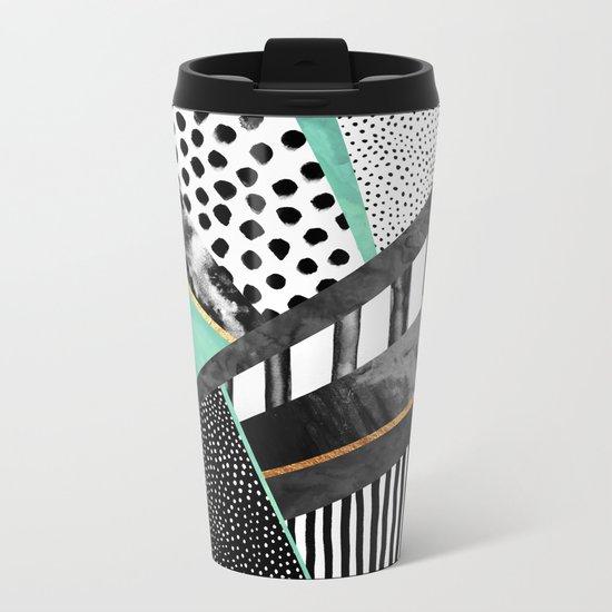Lines & Layers 3 Metal Travel Mug