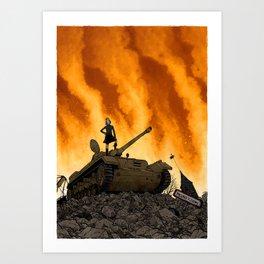 Tank Art Print
