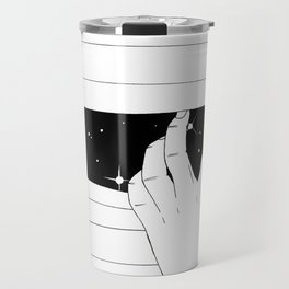 Spying on the stars Travel Mug