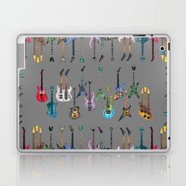 Electric Guitars Watercolor Laptop & iPad Skin