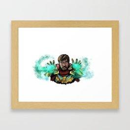 Mysterio Framed Art Print