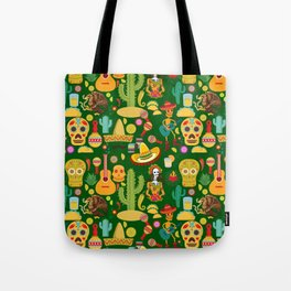 Fiesta Time! Mexican Icons Tote Bag