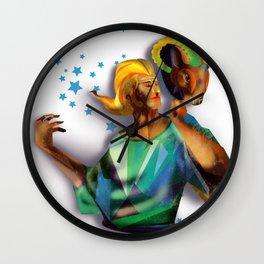 Aries Sign Wall Clock