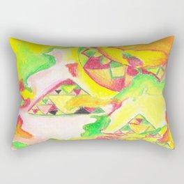 Thermal Abstract by AnyaC Rectangular Pillow