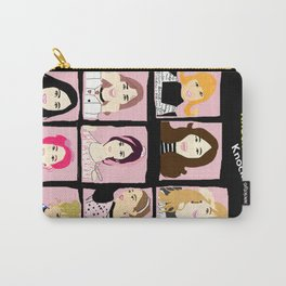 Knock Knock! Pink Version Carry-All Pouch