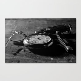 Tradition and Heritage - Black & White Canvas Print