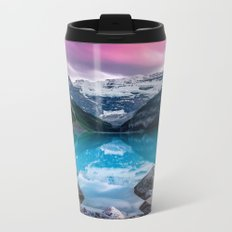Lake Louise Metal Travel Mug