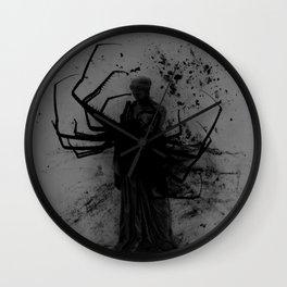 Minerva Discovers Horror Fiction Wall Clock