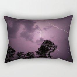 Angry Skies Rectangular Pillow