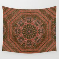 persian Wall Tapestries featuring Eight Piece Persian by Visionary Sea