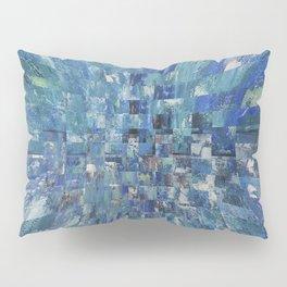 Abstract blue pattern 5 Pillow Sham