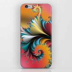 Fractal Reflections iPhone & iPod Skin