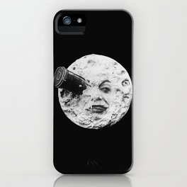 A Trip to the Moon 1902 - Artwork for Wall Art, Prints, Posters, Tshirts, Men Women Kids iPhone Case