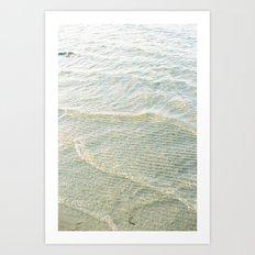 Gentle Waves Art Print
