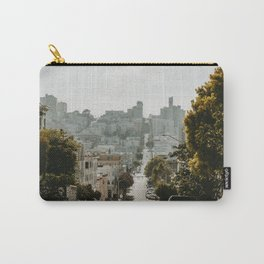 Uphill Street in San Francisco Carry-All Pouch