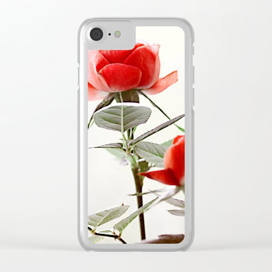 Romantic roses(8). Clear iPhone Case