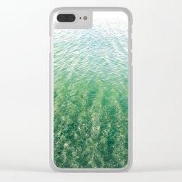 Quiescent Shore Clear iPhone Case