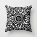 Detailed Black and White Mandala by aej_design