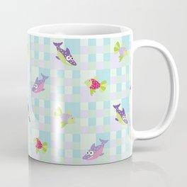Crazy Fishes Coffee Mug