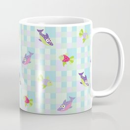 Crazy Fishes Coffee Mug