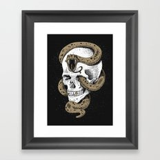 The Dark Mark of You-Know-Who Framed Art Print