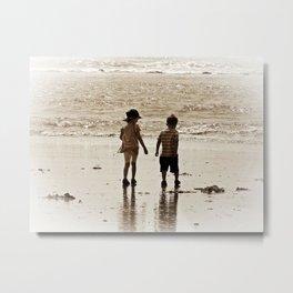 Seaside Memories Metal Print