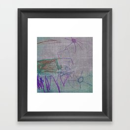 Tractor Different Framed Art Print