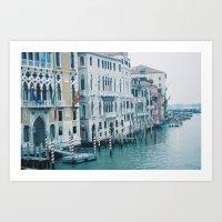 Venetian Fog Art Print